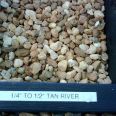 Tan River 1/4″ – 1/2″